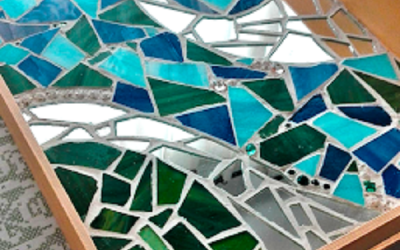 Creativitat en qualsevol moment. Autora Emilia Melià, tallerista del Casal de Barri Diagonal Mar