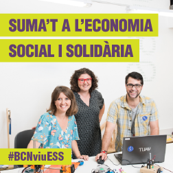 Suma't a l'economia social i solidària. #BCNviuESS