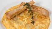 Butifarra de huevo y tortilla