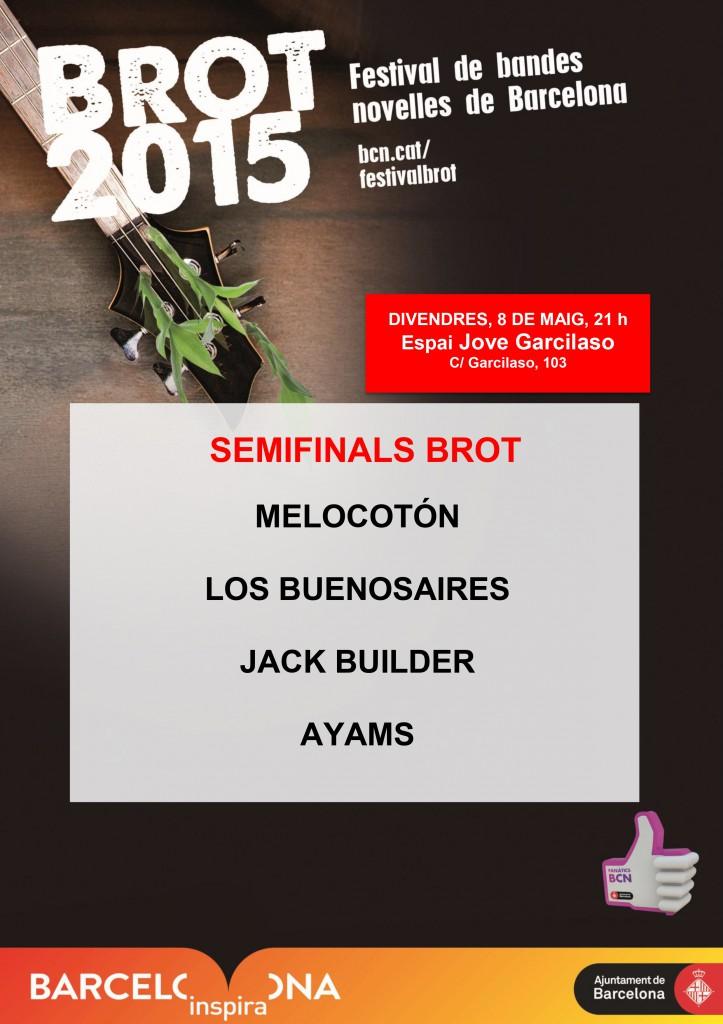 3a semifinal  Brot Garcilaso 2015