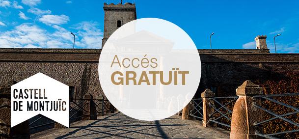 Castell de Montjuïc - El Castell de Montjuïc és una antiga fortalesa militar amb una llarga història vinculada a la ciutat. Ofereix la possibilitat de visitar el Centre d'Interpretació del Castell, on s'explica la història de la muntanya, la del castell i la relació que té amb Barcelona.