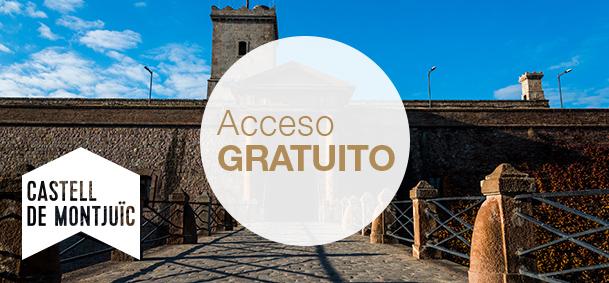 Castillo de Montjuïc - El Castillo de Montjuïc es una antigua fortaleza militar con una larga historia vinculada a la ciudad. Ofrece la posibilidad de visitar el Centro de Interpretación del Castillo, donde se explica la historia de la montaña, la del castillo y la relación que tiene con Barcelona.