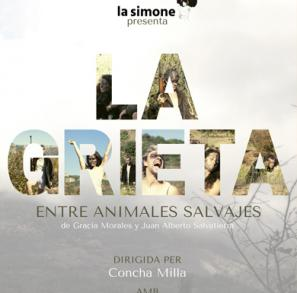 La Grieta, entre animales salvajes