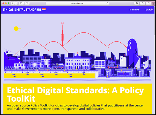 Ethical Digital Standards web
