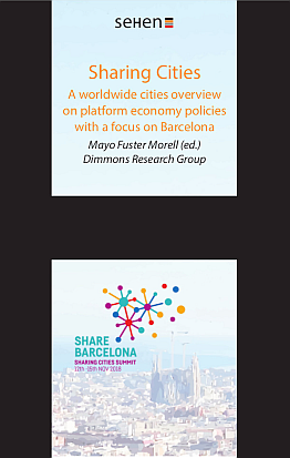 Llibre: Sharing Cities. A worldwide cities overview on platform economy policies with a focus on Barcelona. Mayo Fuster Morell