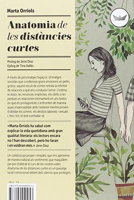Llibre: Anatomia de les distàncies curtes. Marta Orriols
