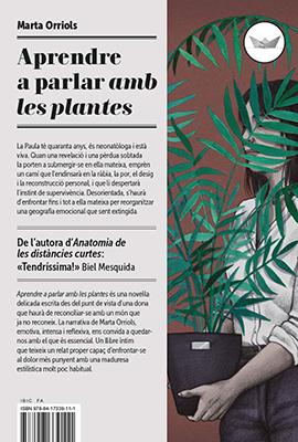 Llibre: Aprendre a parlar amb les plantes. Marta Orriols