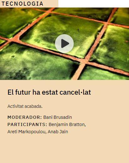 El futur ha estat cancel·lat