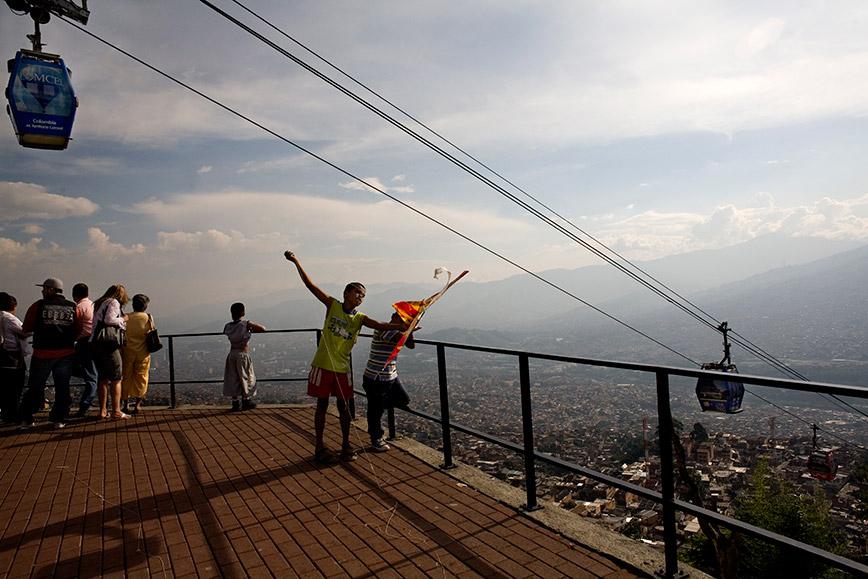 Telefèric Medellín © Consuelo Bautista