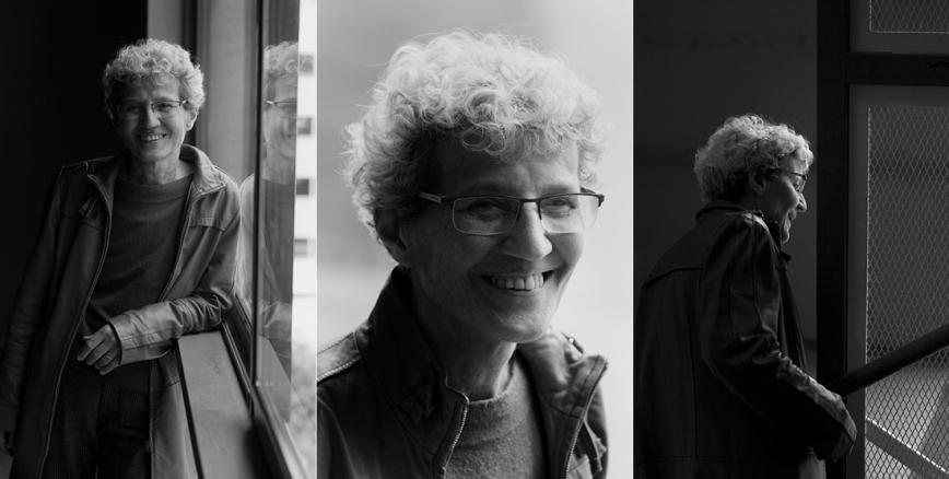 Diversos retrats de Fina Birulés mentre parla. © Camilla de Maffei