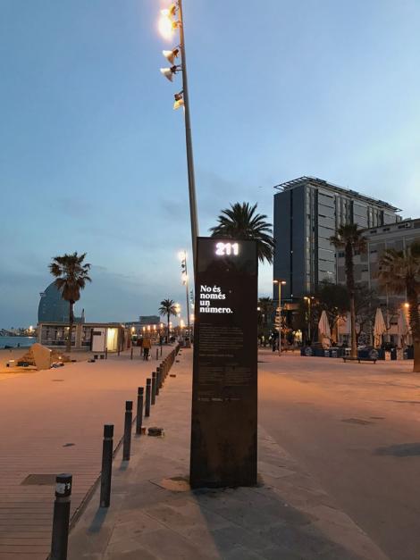 Memorial Som i serem ciutat refugi. © Kathrin Golda-Pongratz