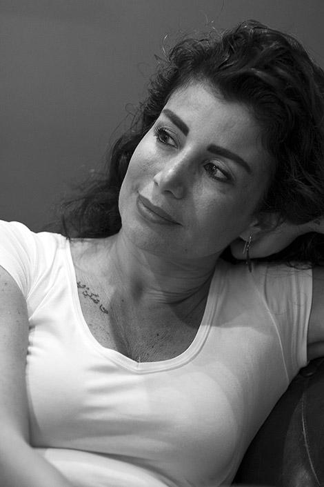 Retrat de Joumana Haddad © Albert Armengol