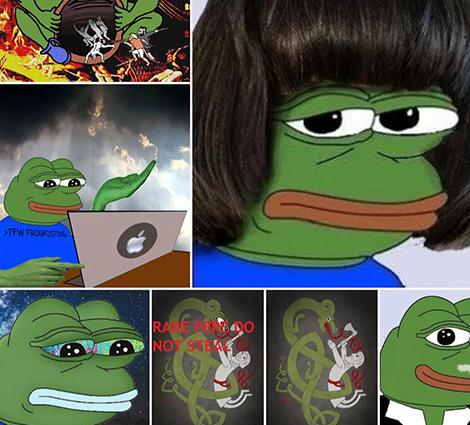 Rare Pepe web