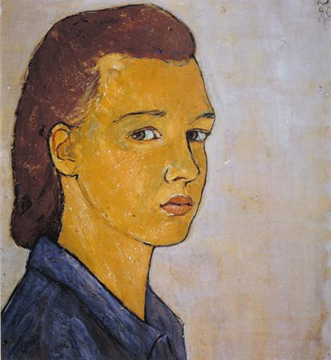 Un quadre de Charlotte Salomon