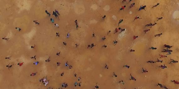 Fotograma del film 'Human Flow' del director Ai Weiwei
