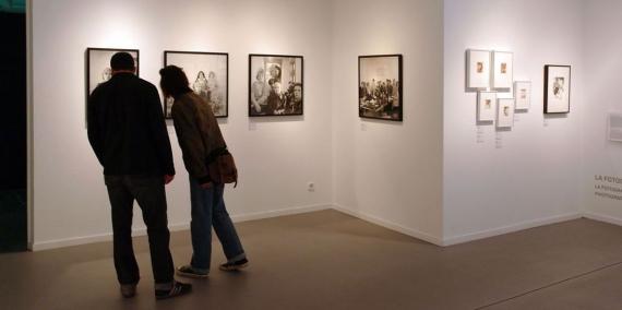 Una exposició a La Virreina. © Vicente Zambrano