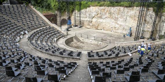 Teatre Grec © Edu Bayer / Ajuntament de Barcelona