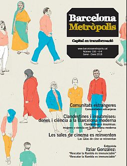 Portada de la revista Metròpolis Barcelona número 106