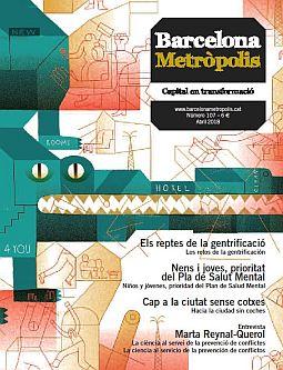 Portada de la revista Metròpolis Barcelona número 107