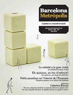 Portada de la revista Metròpolis Barcelona número 108