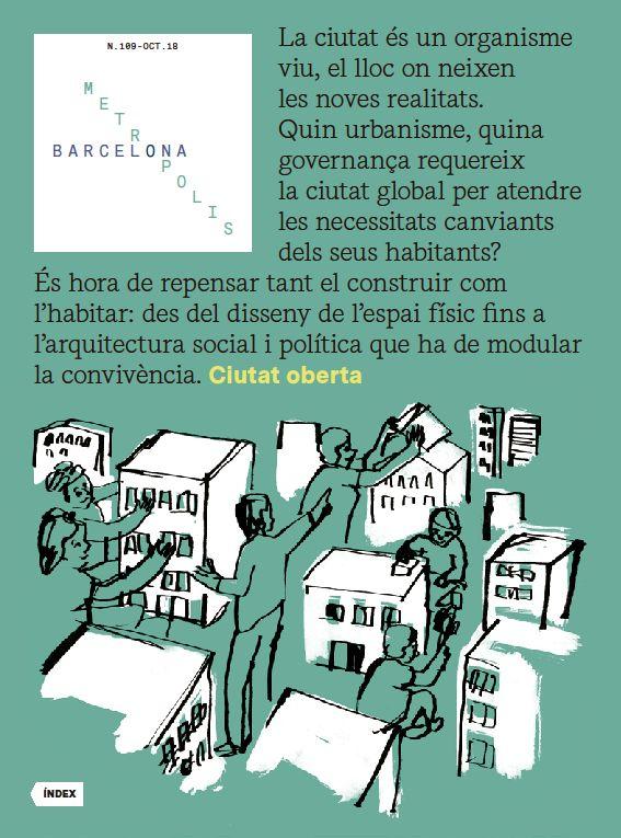 Portada de la revista Metròpolis Barcelona número 109.