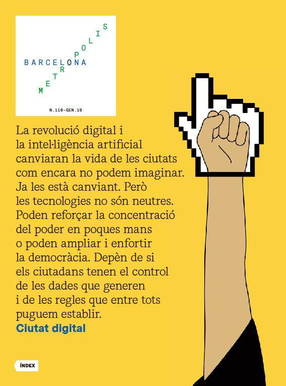 Revista Barcelona Metròpolis 110 - Ciutat digital