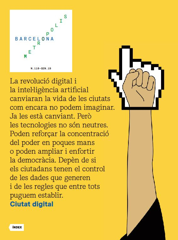 Reivsta Barcelona Metròpolis 110 - Ciutat digital