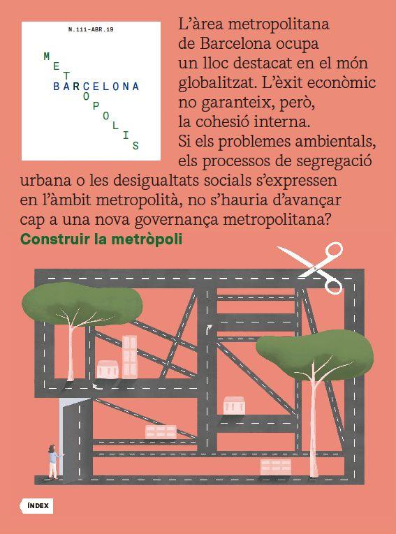 Revista Barcelona Metròpolis 111 - Construir la metròpoli