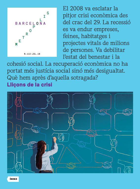 Revista Barcelona Metròpolis 112 - Lliçons de la crisi