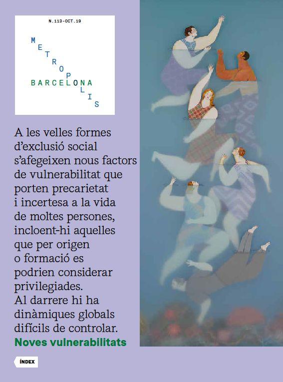 Revista Barcelona Metròpolis 113 - Noves vulnerabilitats