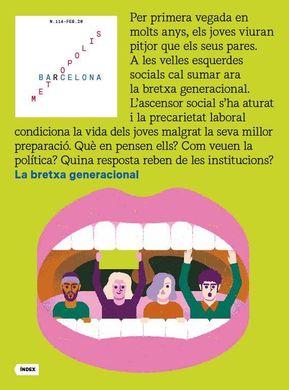 Revista Barcelona Metròpolis 114 - La bretxa generacional