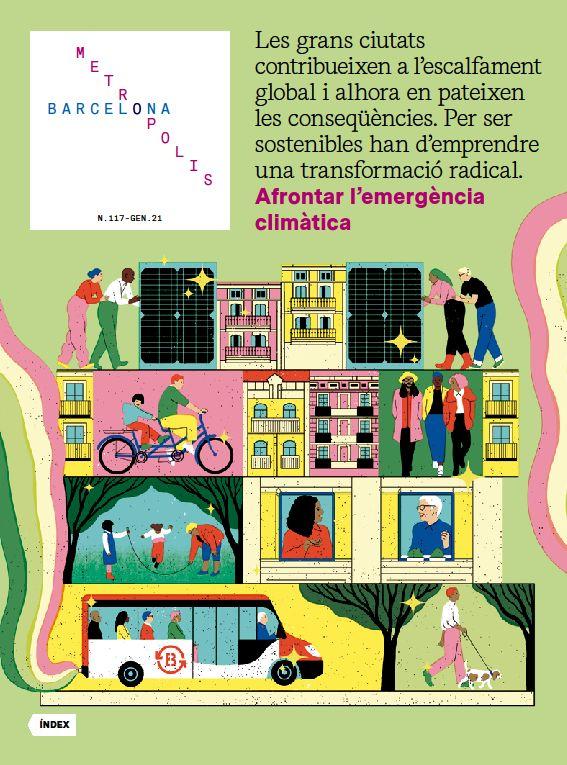 Barcelona Metròpolis 117 - Afrontar l'emergència climàtica