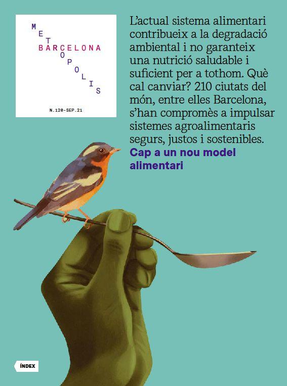 Barcelona Metròpolis 120 - Cap a un nou model alimentari