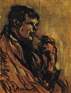 Retrat de Juli Vallmitjana, realitzat per Isidre Nonell