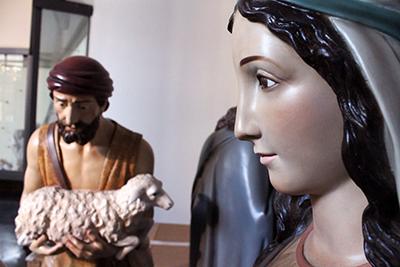 Figures de pessebre Museu Etnològic de Barcelona