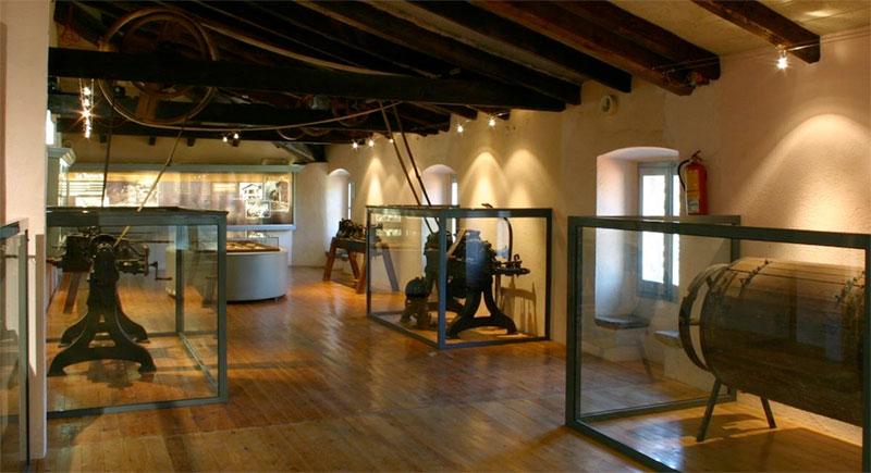 Interior del Museu Etnològic del Montseny.