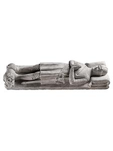 Làpida sepulcral amb cavaller jacent