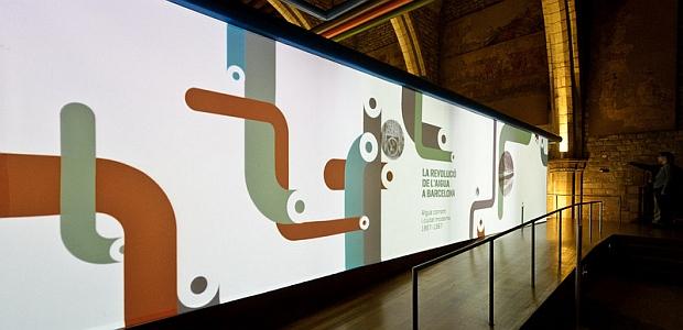 Exposición 'La revolución del agua en Barcelona'