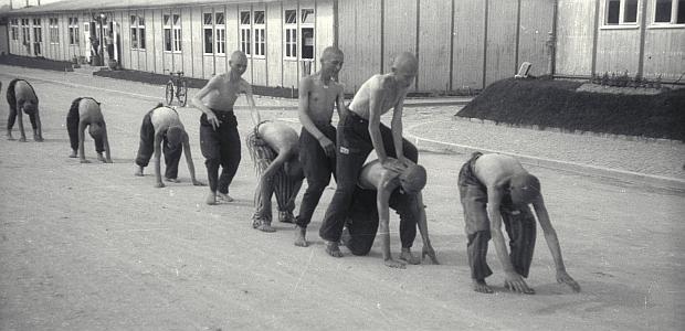 Prisioneros del campo de concentración de Mauthausen