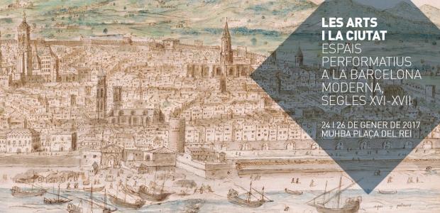 Detall de Barcelona, any 1563, Antoon Van den Wijngaerde, Österreichische Nationalbibliothek, Viena