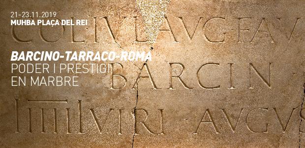 Placa dedicada pels sevirs augustals a la colònia de Barcino © Jordi Puig