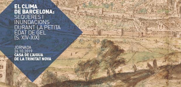 Fragment de la vista de Barcelona des de Montjuïc, gravat realitzat per Anton Van Den Wyngaerde l'any 1563 (AHCB-21803)