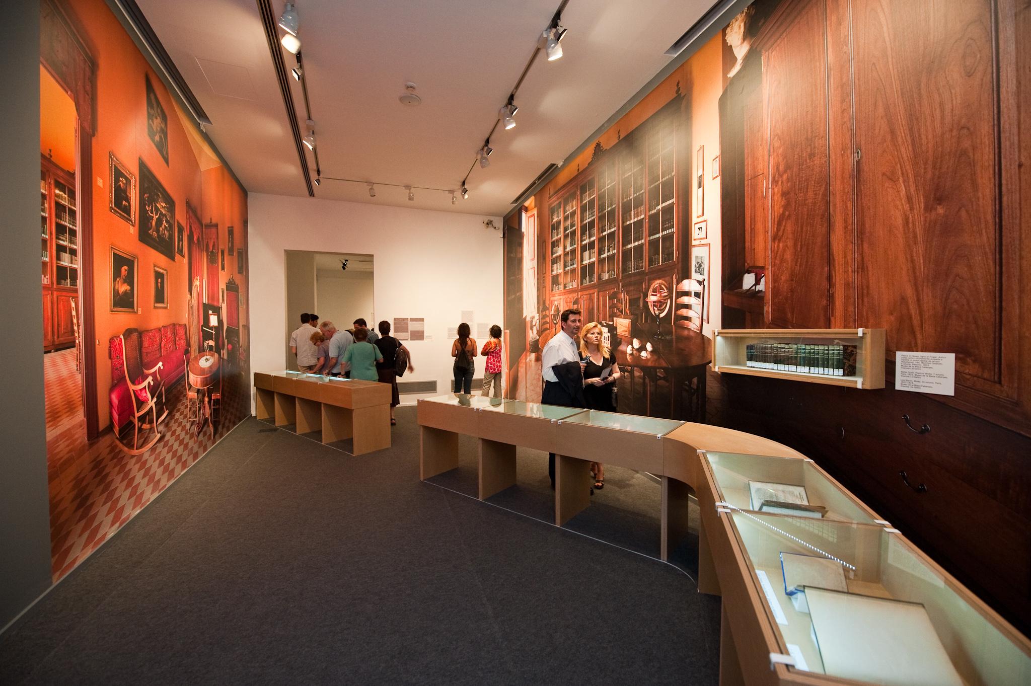 Interior de la exposición