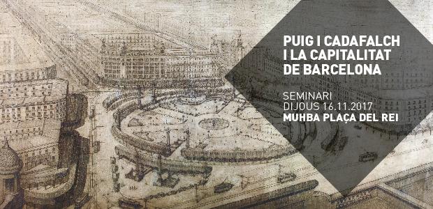 Perspectiva de la Plaza Cataluña, 1923. ANC, Fondo Josep Puig i Cadafalch
