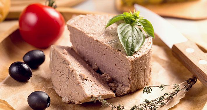 Home-made pâté