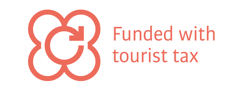 Funded with tourist tax
