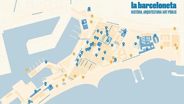 """Itinerari """"La Barceloneta. Història, arquitectura i art públic"""""""