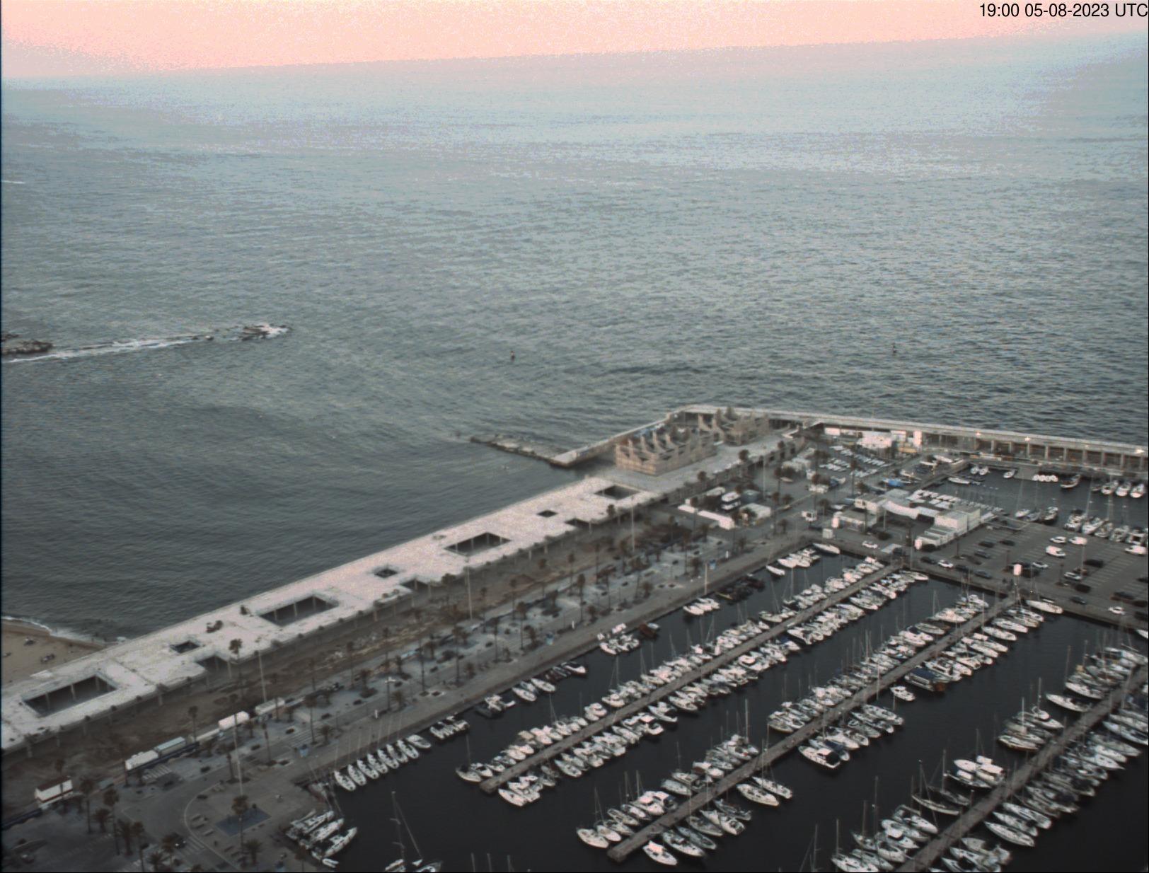 Port Olímpic – Webcam 1