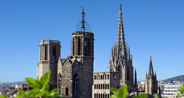 Belltowers of the Cathedral of Barcelona