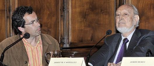 Jordi Gracia i Josep Maria Castellet